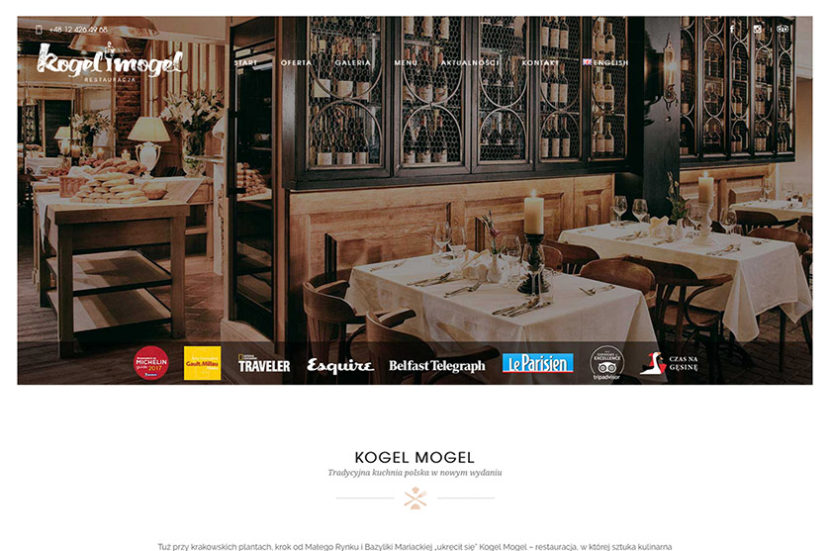 Dorota Gostylla - Restauracja Kogel Mogel
